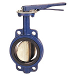 Cast Iron  Butterfly Valve, Wafer Type