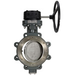High Performance Cast Steel Butterfly Valve,Lug Type,740 PSI