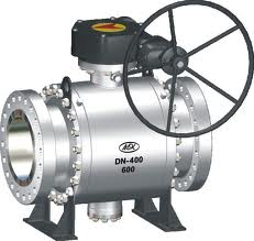 Cast Steel Trunnion-Mounted Ball Valves